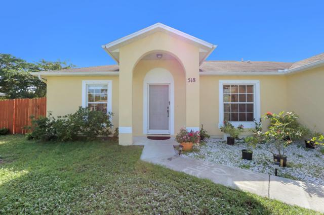 518 SW Ryan Avenue, Port Saint Lucie, FL 34953 (#RX-10486689) :: The Reynolds Team/Treasure Coast Sotheby's International Realty
