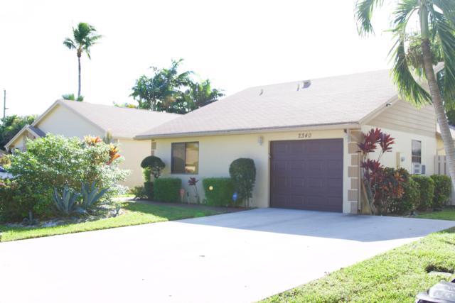 2340 NW 14th Street, Delray Beach, FL 33445 (#RX-10487122) :: The Reynolds Team/Treasure Coast Sotheby's International Realty