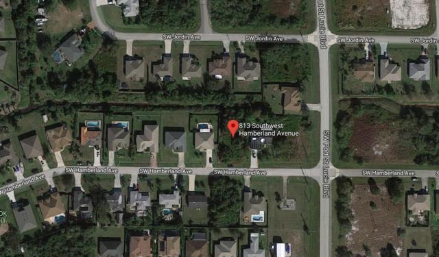 813 SW Hamberland Av Avenue, Port Saint Lucie, FL 34953 (MLS #RX-10487897) :: Castelli Real Estate Services
