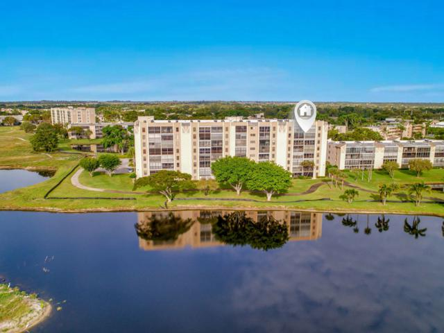 7076 Huntington Lane #701, Delray Beach, FL 33446 (MLS #RX-10488492) :: Castelli Real Estate Services