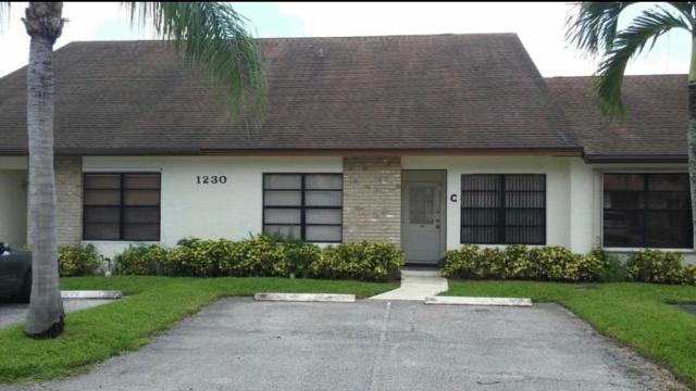1230 Parkside Green C, West Palm Beach, FL 33415 (MLS #RX-10495064) :: The Paiz Group