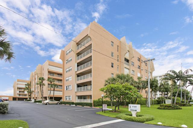 3520 S Ocean Boulevard L205, South Palm Beach, FL 33480 (#RX-10495369) :: Blue to Green Realty