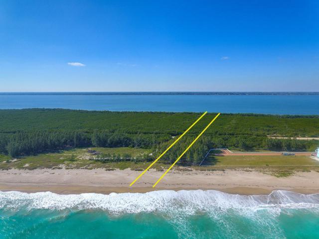 0 S Ocean Drive, Hutchinson Island, FL 34949 (#RX-10496829) :: Ryan Jennings Group