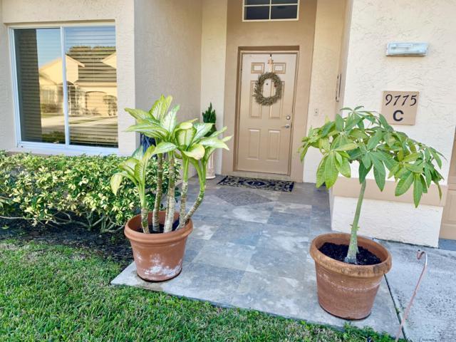 9775 N Boca Gardens Circle C, Boca Raton, FL 33496 (#RX-10496881) :: Weichert, Realtors® - True Quality Service