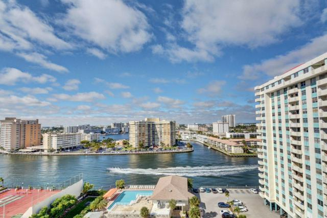 1849 S Ocean Drive #1401, Hallandale Beach, FL 33009 (MLS #RX-10499816) :: Castelli Real Estate Services