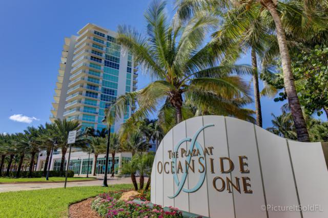 1 N Ocean Boulevard #810, Pompano Beach, FL 33062 (MLS #RX-10502993) :: Castelli Real Estate Services