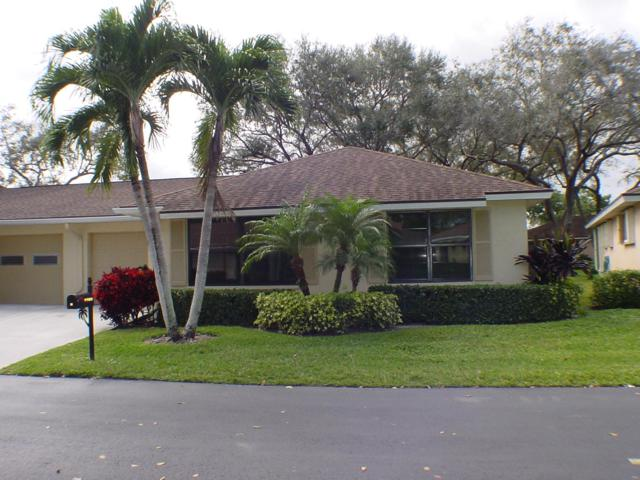 9900 Pecan Tree Drive B, Boynton Beach, FL 33436 (MLS #RX-10503393) :: EWM Realty International