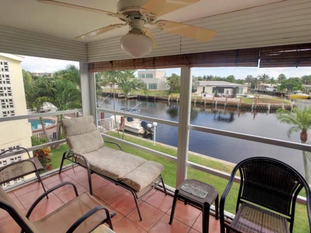1100 Pine Drive #208, Pompano Beach, FL 33060 (MLS #RX-10506468) :: Castelli Real Estate Services