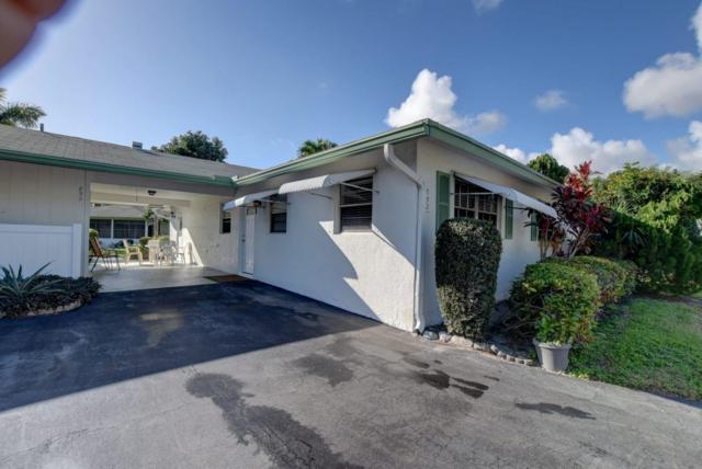 852 Meadowlark Lane, Delray Beach, FL 33445 (MLS #RX-10506976) :: EWM Realty International