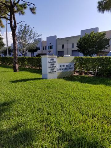 5401 N Haverhill Road #105, West Palm Beach, FL 33407 (MLS #RX-10507409) :: Berkshire Hathaway HomeServices EWM Realty