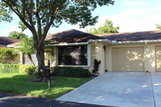9955 Orchid Tree Trail A, Boynton Beach, FL 33436 (MLS #RX-10509235) :: Berkshire Hathaway HomeServices EWM Realty