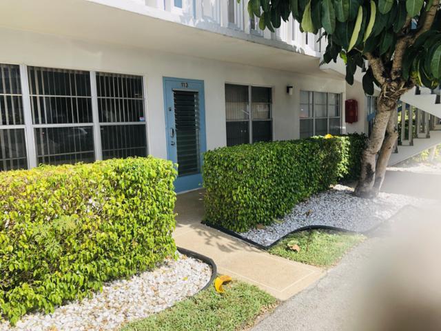 113 Greenbrier A #113, West Palm Beach, FL 33417 (#RX-10511572) :: Ryan Jennings Group