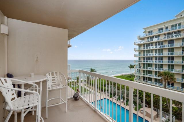 1069 Hillsboro Mile #604, Hillsboro Beach, FL 33062 (#RX-10512913) :: Ryan Jennings Group
