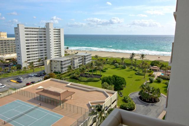 3400 N Ocean Drive #1207, Singer Island, FL 33404 (#RX-10513444) :: Ryan Jennings Group
