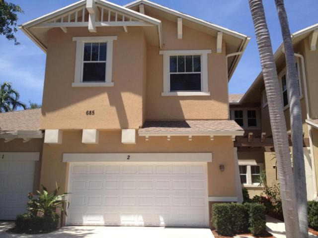 685 Pacific Grove Drive #2, West Palm Beach, FL 33401 (MLS #RX-10513981) :: Berkshire Hathaway HomeServices EWM Realty