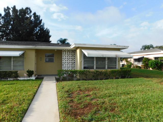 192 W High Point Terrace D, Delray Beach, FL 33445 (MLS #RX-10514127) :: EWM Realty International