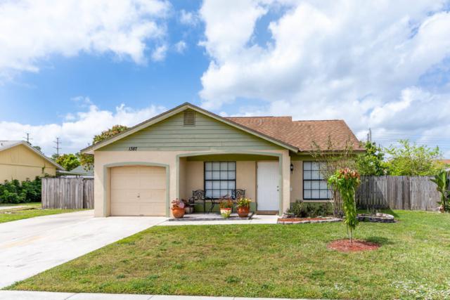 1387 Denlow Lane, Royal Palm Beach, FL 33411 (#RX-10514706) :: Blue to Green Realty