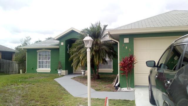 943 SW Machord Avenue Avenue, Port Saint Lucie, FL 34953 (#RX-10514820) :: Blue to Green Realty