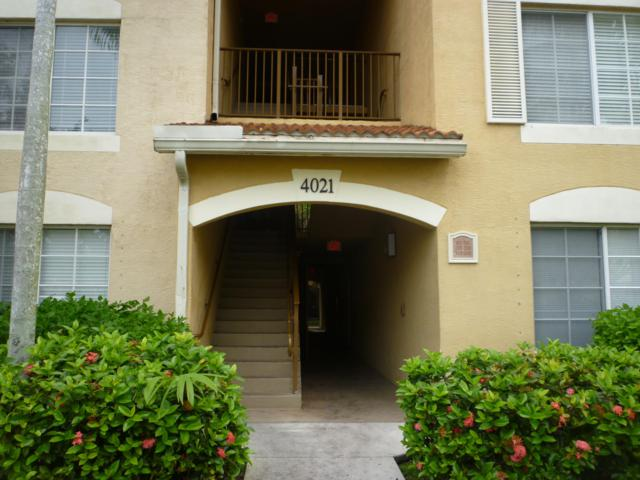 4021 San Marino Boulevard #205, West Palm Beach, FL 33409 (#RX-10515077) :: Blue to Green Realty