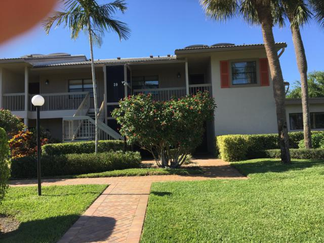 39 Eastgate Drive D, Boynton Beach, FL 33436 (#RX-10515087) :: Blue to Green Realty