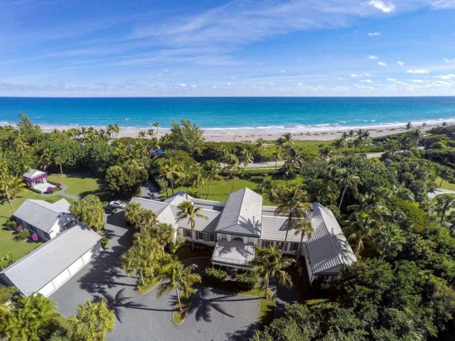 372 S Beach Road, Hobe Sound, FL 33455 (MLS #RX-10515681) :: The Paiz Group