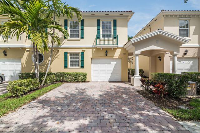 424 Capistrano Drive, Palm Beach Gardens, FL 33410 (MLS #RX-10519283) :: EWM Realty International