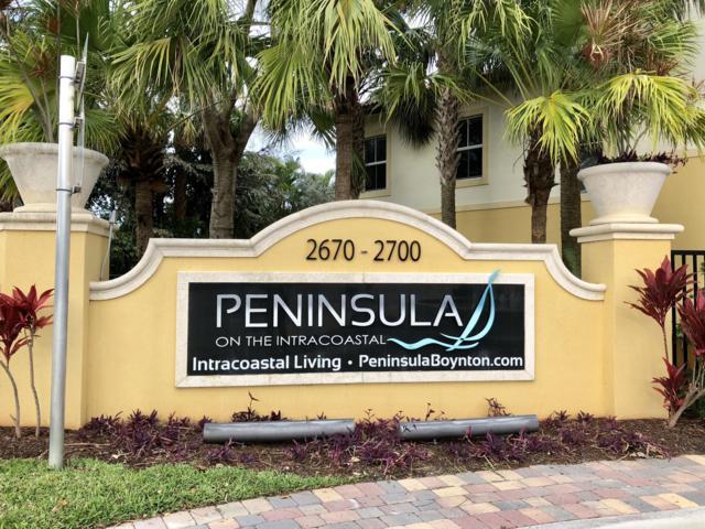 2670 N Federal Highway #3, Boynton Beach, FL 33435 (MLS #RX-10519929) :: The Paiz Group