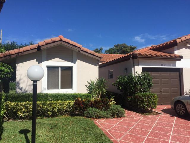 6036 Millington Way A, Delray Beach, FL 33484 (MLS #RX-10521766) :: EWM Realty International
