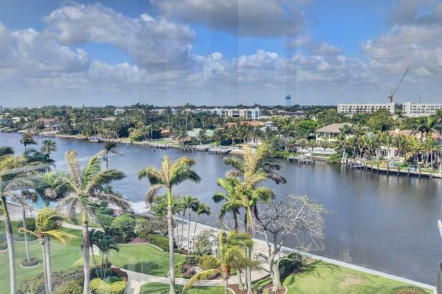 200 Macfarlane Drive N-704, Delray Beach, FL 33483 (MLS #RX-10522328) :: Berkshire Hathaway HomeServices EWM Realty