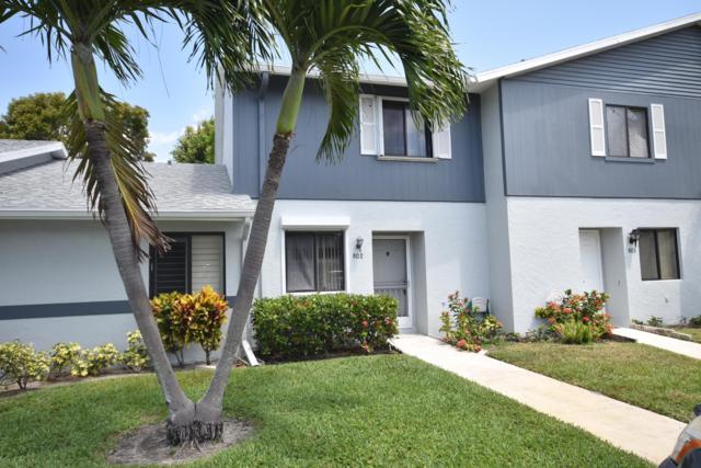 2641 Gately Drive W #802, West Palm Beach, FL 33415 (MLS #RX-10522653) :: EWM Realty International