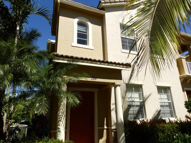121 Seagrape Drive #204, Jupiter, FL 33458 (MLS #RX-10523347) :: Berkshire Hathaway HomeServices EWM Realty