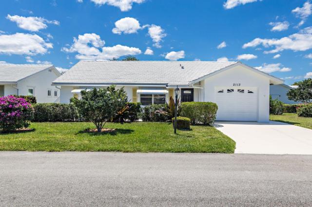 2113 SW 22nd Court, Boynton Beach, FL 33426 (#RX-10524612) :: Weichert, Realtors® - True Quality Service