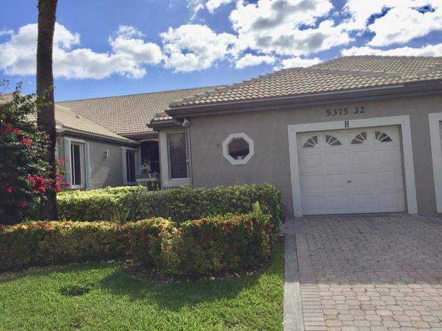 5375 Monterey Circle H, Delray Beach, FL 33484 (MLS #RX-10524638) :: Berkshire Hathaway HomeServices EWM Realty