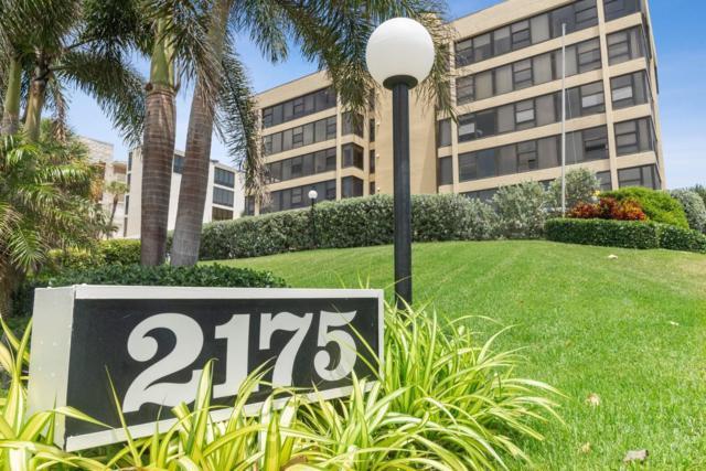 2175 S Ocean Boulevard #103, Delray Beach, FL 33483 (MLS #RX-10526537) :: Berkshire Hathaway HomeServices EWM Realty