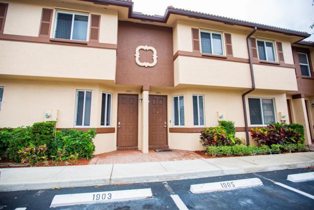 1903 Hibiscus Lane, Riviera Beach, FL 33404 (MLS #RX-10527084) :: EWM Realty International