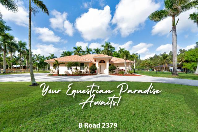 2379 B Road, Loxahatchee Groves, FL 33470 (#RX-10529766) :: The Reynolds Team/Treasure Coast Sotheby's International Realty