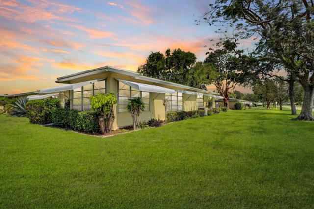 167 High Point Terrace W #D, Delray Beach, FL 33445 (MLS #RX-10530662) :: EWM Realty International