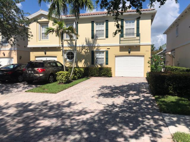443 Capistrano Drive, Palm Beach Gardens, FL 33410 (MLS #RX-10532299) :: Castelli Real Estate Services