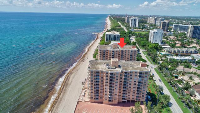 4511 S Ocean Boulevard #606, Highland Beach, FL 33487 (#RX-10532386) :: Ryan Jennings Group