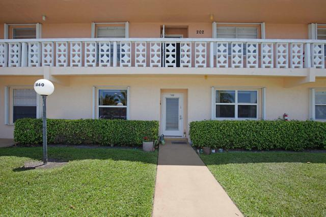 1860 NW 13th Street #102, Delray Beach, FL 33445 (MLS #RX-10532399) :: Castelli Real Estate Services