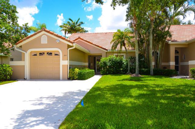 201 Sabal Palm Lane, Palm Beach Gardens, FL 33418 (MLS #RX-10532525) :: The Paiz Group