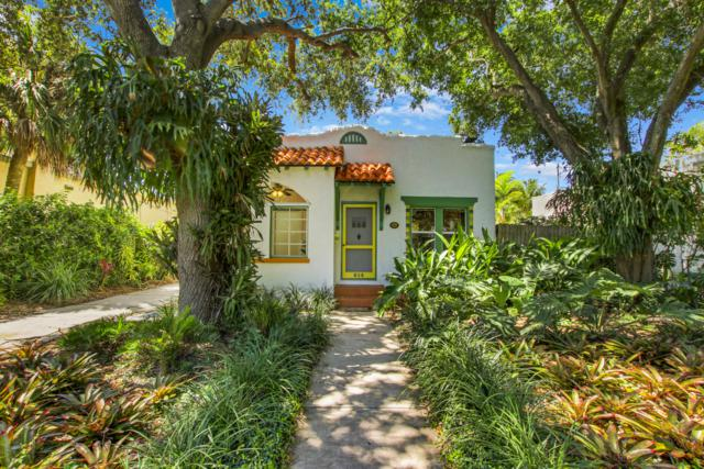 814 Upland Road, West Palm Beach, FL 33401 (MLS #RX-10533012) :: The Edge Group at Keller Williams