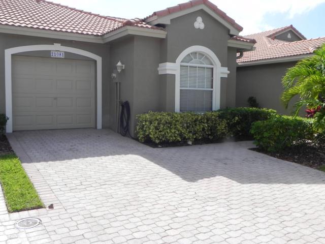 21081 Via Solano, Boca Raton, FL 33433 (MLS #RX-10535504) :: EWM Realty International