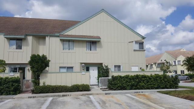 6263 Riverwalk Lane #7, Jupiter, FL 33458 (MLS #RX-10535533) :: EWM Realty International