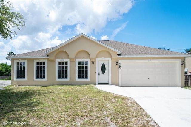 1265 SW Melrose Avenue, Port Saint Lucie, FL 34953 (MLS #RX-10535743) :: Berkshire Hathaway HomeServices EWM Realty