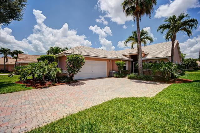 5392 Grande Palm Circle, Delray Beach, FL 33484 (MLS #RX-10536378) :: Laurie Finkelstein Reader Team