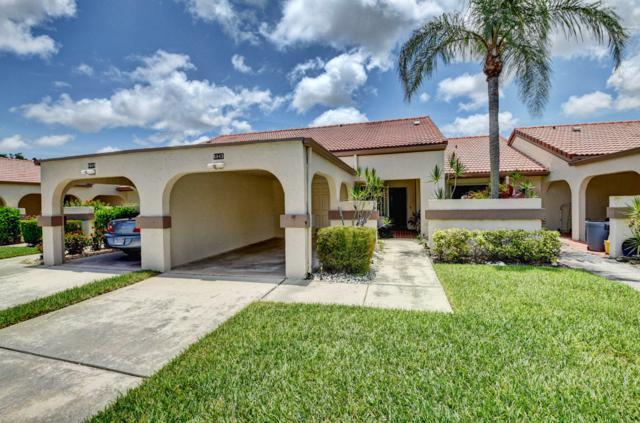 5543 Parkwalk Circle E, Boynton Beach, FL 33472 (MLS #RX-10536465) :: EWM Realty International