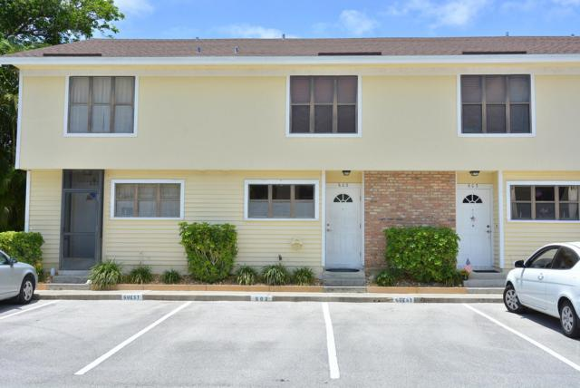 13513 S Indian River Drive #602, Jensen Beach, FL 34957 (MLS #RX-10536503) :: EWM Realty International