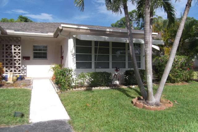 1305 High Point Way SE B, Delray Beach, FL 33445 (MLS #RX-10536765) :: EWM Realty International