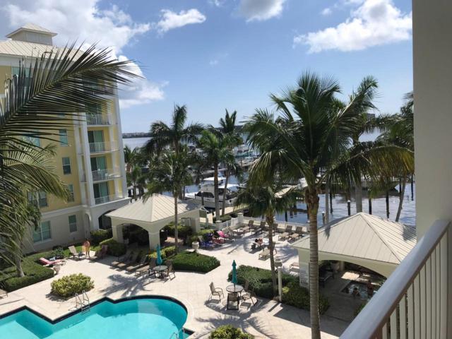 806 E Windward Way #418, Lantana, FL 33462 (MLS #RX-10537327) :: Berkshire Hathaway HomeServices EWM Realty